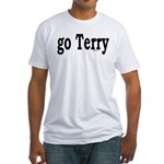 go Terry Fitted T-Shirt