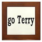 go Terry Framed Tile