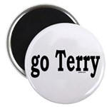"""go Terry 2.25"""" Magnet (10 pack)"""