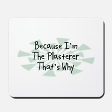 Because Plasterer Mousepad