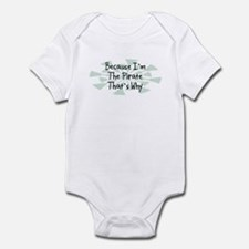 Because Pirate Infant Bodysuit