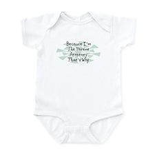 Because Patent Attorney Infant Bodysuit