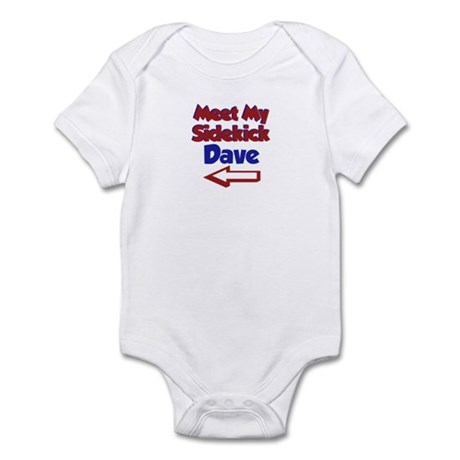 Dave's Sidekick (Left) Infant Bodysuit