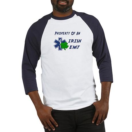 Irish EMT Property Baseball Jersey