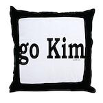 go Kim Throw Pillow