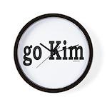 go Kim Wall Clock