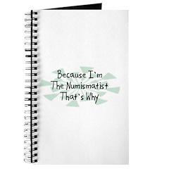 Because Numismatist Journal