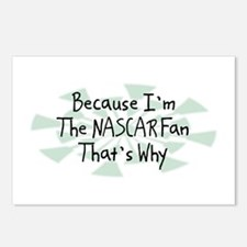 Because NASCAR Fan Postcards (Package of 8)