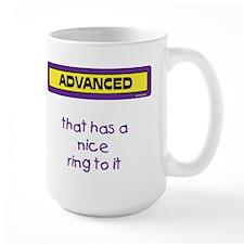 ..nice ring to it Mug(purple and yellow)