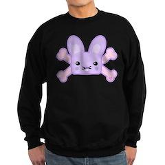 Kawaii Bunny and Crossbones Sweatshirt