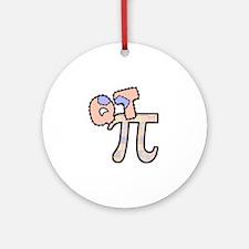Q T Pi Cutie Pi Ornament (Round)