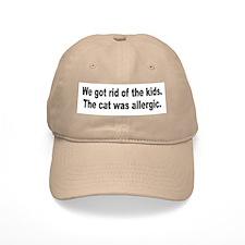 Cat Allergy Kid Humor Baseball Cap