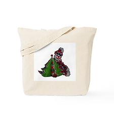 Cool Crochet christmas Tote Bag