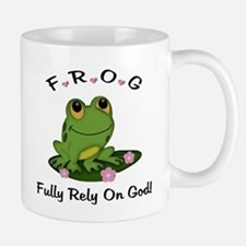 FROG Fully Rely On God Small Small Mug