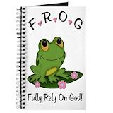 Frog Journals & Spiral Notebooks