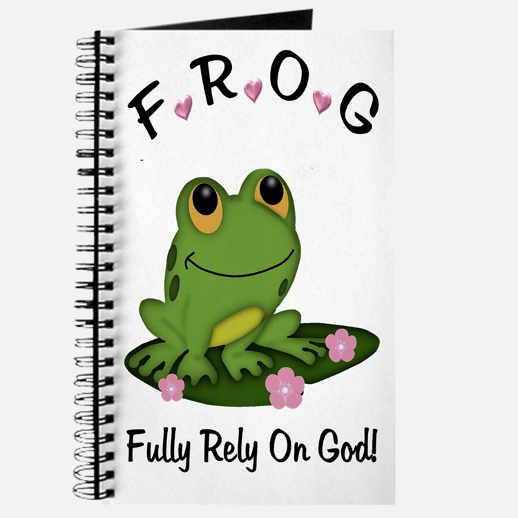 FROG Fully Rely On God Journal