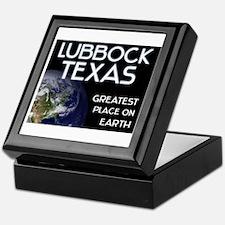 lubbock texas - greatest place on earth Keepsake B