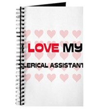 I Love My Clerical Assistant Journal