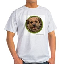 Border Terrier Ash Grey T-Shirt