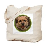Border terrier Regular Canvas Tote Bag