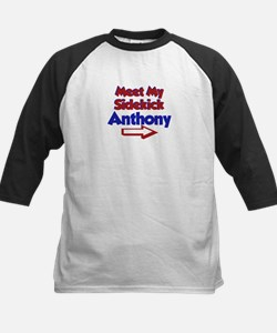 Anthony's Sidekick (Right) Kids Baseball Jersey