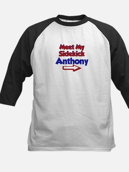 Anthony's Sidekick (Right) Kids Baseball Jersey