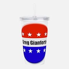 Greg Gianforte Acrylic Double-wall Tumbler