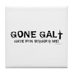 Gone Galt Tile Coaster