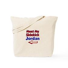 Jordan's Sidekick (Left) Tote Bag