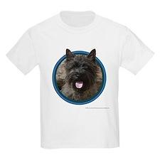 Cairn Terrier Art Kids T-Shirt