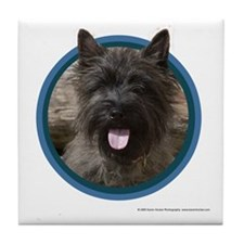 Cairn Terrier Art Tile Coaster
