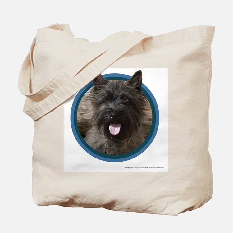 Cairn Terrier Art Tote Bag