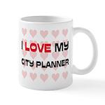 I Love My City Planner Mug