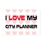 I Love My City Planner Postcards (Package of 8)