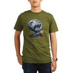 Men's Fitted T-Shirt (dark) St Patrick's Day Logo
