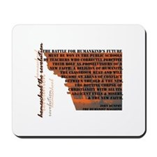 Humanistic Education Mousepad