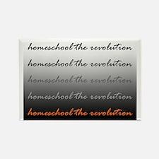 Homeschool the Revolution Rectangle Magnet