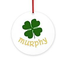 Irish Murphy Ornament (Round)