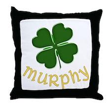 Irish Murphy Throw Pillow