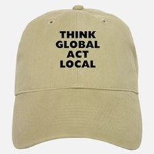 Think Global Baseball Baseball Cap