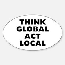Think Global Decal