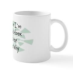 Because Lunchbox Collector Mug