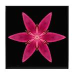 Pink Lily I Tile Coaster