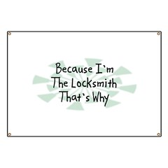 Because Locksmith Banner