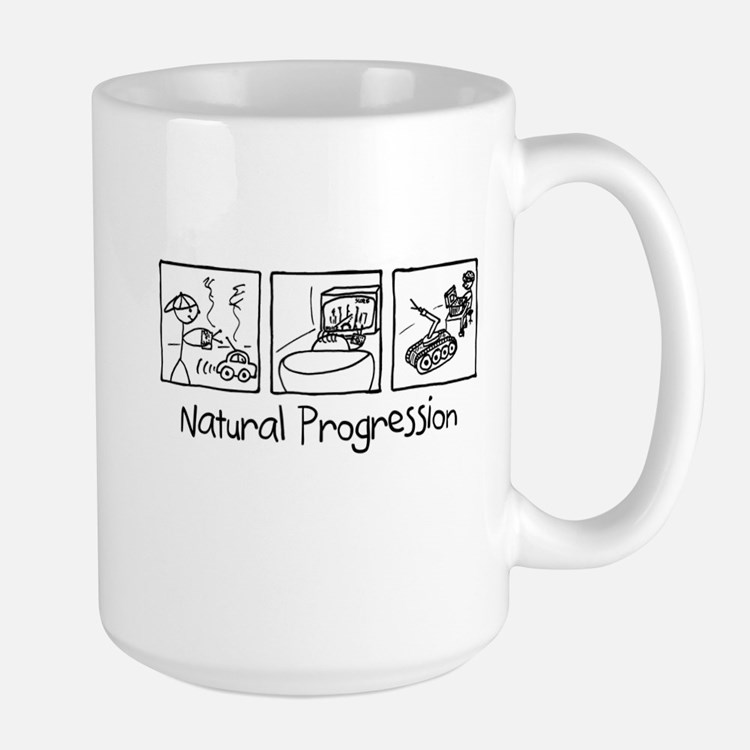 EOD - Natural Progression Large Mug