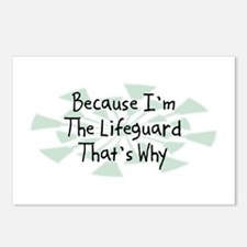 Because Lifeguard Postcards (Package of 8)
