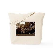 Black Panthers SEPIA Tote Bag