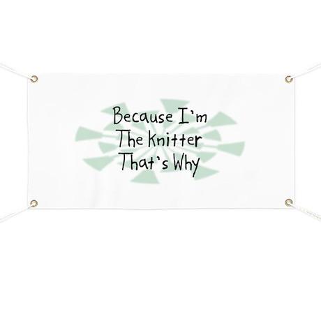 Because Knitter Banner