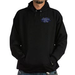 Because Kindergarten Teacher Hoodie (dark)