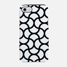 wavy-scale_line_black_9x9.png iPhone 7 Tough Case